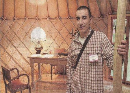 Nicolas Chailloux au salon de l'habitat