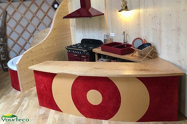 Fabricant de yourtes contemporaines en Maine-et-Loire