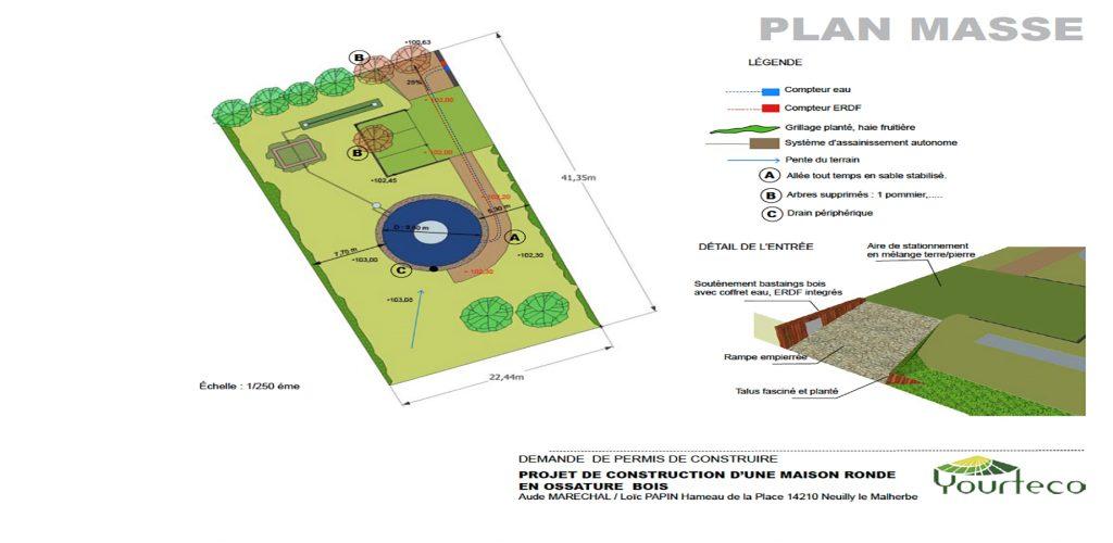 Illustration de la documentation sur le permis de construire une yourte par Yourteco