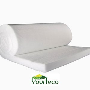 Ouate recyclée pour yourte contemporaine par Yourteco