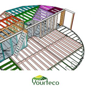Service calcul structure pour yourte boutique Yourteco
