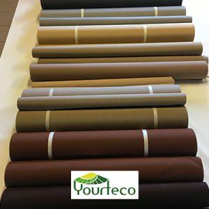 Toile acrylique imperméable pour yourte par Yourteco